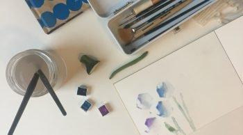 Disegnare con frutta e ortaggi