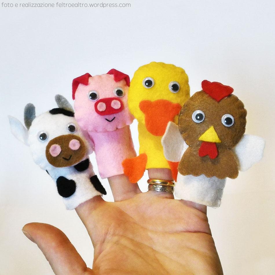 marionette a dita
