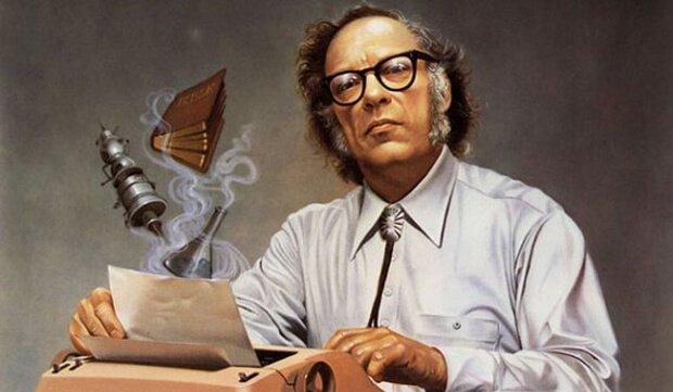 Lo scrittore Isaac Asimov - Foto via ArtSpecialDay